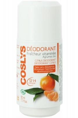 deodorant fraicheur vitaminée agrumes coslys