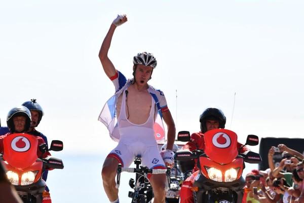 Alexandre Geniez vainqueur de la troisième étape de la Vuelta 2016