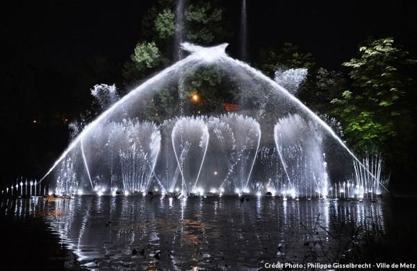 Fontaines dansantes