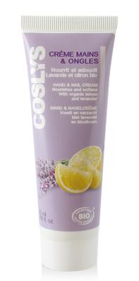 crème mains lavande citron bio coslys