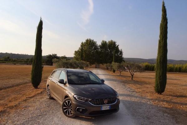 Entre piste et route pour la Fiat Tipo Sw