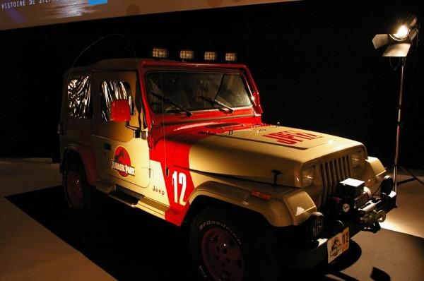 a Jeep Wrangler Sahara de « Jurassic Park »