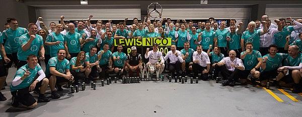 Mercedes Formule 1 team