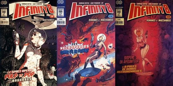 Infinity 8 - Comic Book 1/2/3 ©Rue de Sèvres
