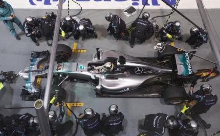 Mercedes 44 de Lewis Hamilton