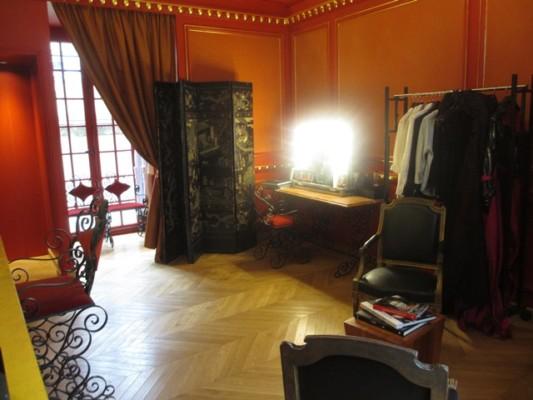 Studio Harcourt : Salon de maquillage