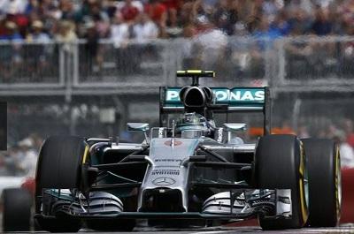 Formule 1 Mercédès de Nico Rosberg