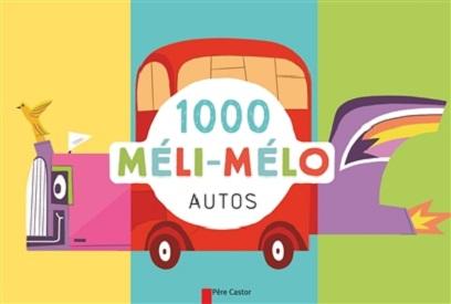 1000 meli melo autos flammarion