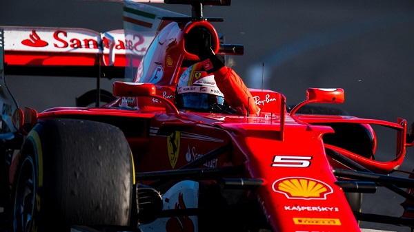 Ferrari Vettel Formule 1