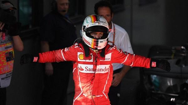 Vettel Formule 1