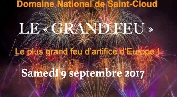 Le Grand Feu de Saint-Cloud - le 9 septembre 2017