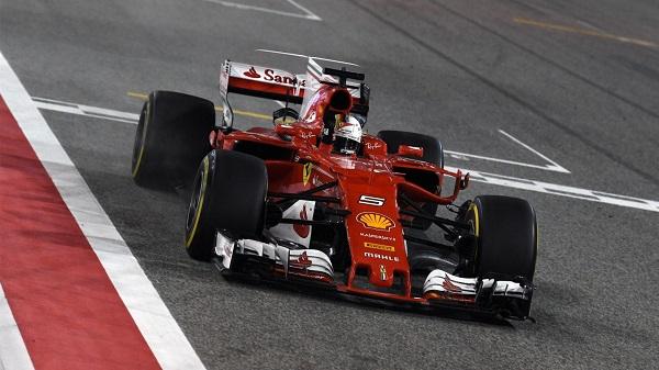 Formule1 ferrari GP Barhein
