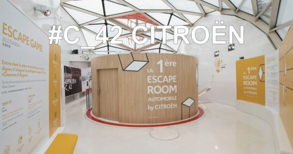 NO LIMIT - Escape Game et Réalité Virtuelle  au C42 Citroën