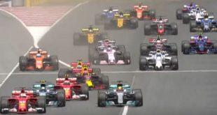 Formule1 Espagne 2017 depart