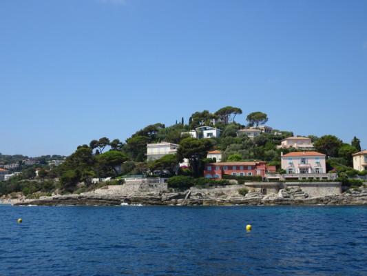 Saint jean cap ferrat c t mer avec le bateau la sir ne - Office du tourisme saint jean cap ferrat ...