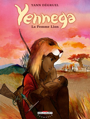 yennega-la-femme-lion-delcourt
