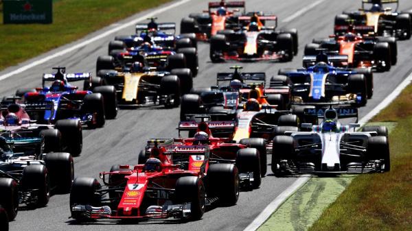 Formule 1 Italie- Départ 1