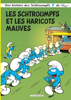 les-schtroumpfs-haricots-mauves-t35-le-lombard