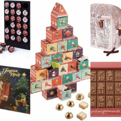 Calendriers de l'Avent au chocolat Partie 1