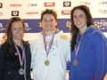 Podium 50m Papillon damesGolden Tour FFN NICE