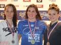 Podium 50m brasse damesGolden Tour FFN NICE