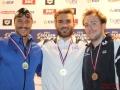 Podium 50m brasse hommesGolden Tour FFN NICE