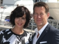 Catherine bell & james denton (2)MIP TV 2015