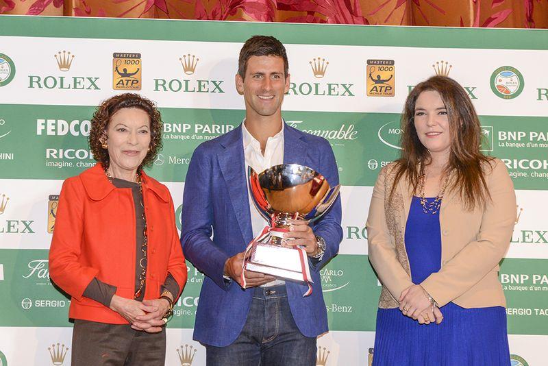 Monte-Carlo Rolex  Masters- deMassyElisabethAnn Djokovic deMassyMemanieAntoinette tirageausort BD realis 586f8e62584