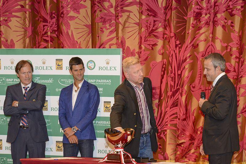 Monte-Carlo Rolex  Masters Franulovic Djokovic Becker Apostolou tirageausort BD realis 9c1b69c85d9