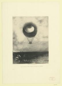 AP. Redon, oeil_ballon, Grand Palais