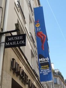 AP. Expo Miro Musée Maillol