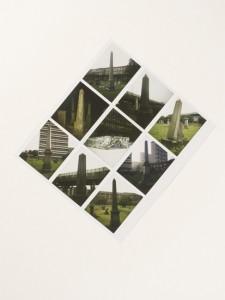 Geographical Analogies, 2006-2011, mixed media, 65 x 48 x 10 cm (avec cadre), 25 5/8 x 19 x 4 inches (sans cadre), © Cyprien Gaillard, Courtesy Galerie Bugada & Cargnel, Paris/Sprüth Magers, Berlin London/Laura Bartlett Gallery, London