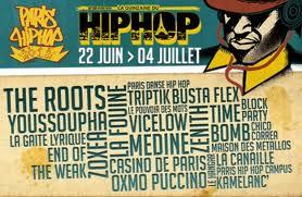Affiche officiel Paris Hip-Hop 2012