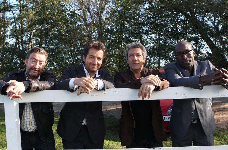 Philippe Duquesne, Edouard Baer, Alain Chabat et Lucien Jean-Baptiste.