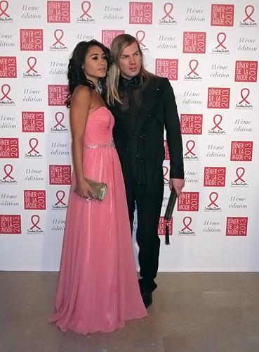 Diner de la Mode 2013-Melissa Mars,Christophe Guillarme