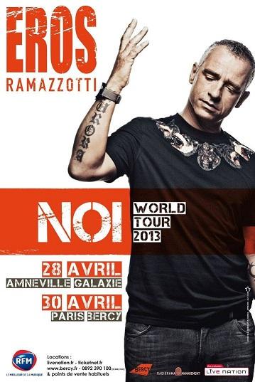 Eros Ramazotti, NOI World Tour 2013