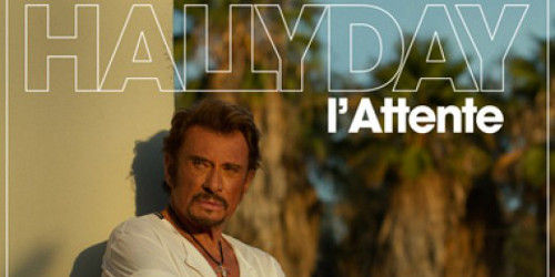 Johnny Hallyday l'album « L'Attente ».