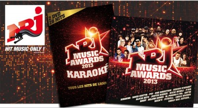 La compilation et le DVD Karaoke NRJ MUSIC AWARDS