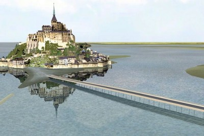 Le Mont St Michel Après les travaux en 2015