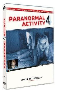 Paranormal Activity 4 en Dvd