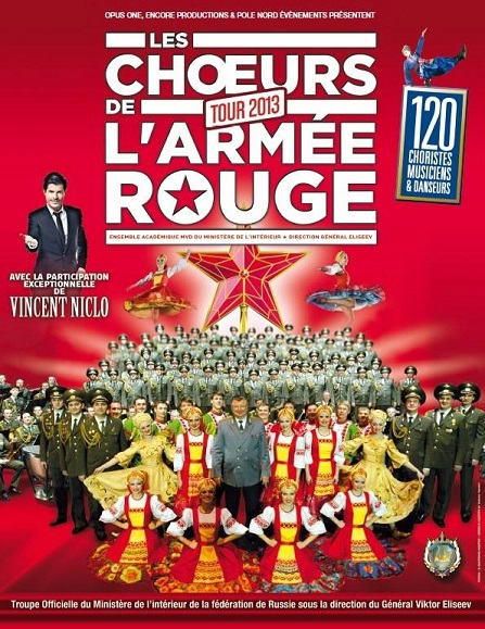 Vincent Niclo, choeurs armee rouge