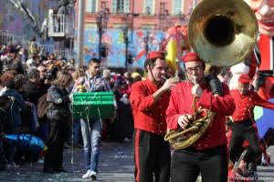 Le groupe musical et artistique, les grooms