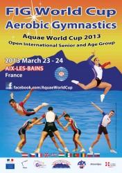 Aquae Cup de gymnastique aérobic resultats