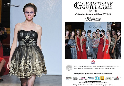 Christophe Guillarme, collection automne hiver 2013-14