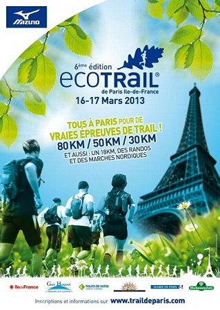 Ecotrail de Paris Ile de France