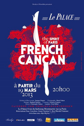 French Cancan, the Spirit of Paris