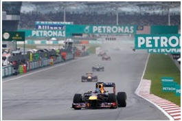 Grand Prix de Malaisie le double pour Infiniti Red Bull Racing Renault