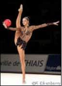 Gymnastique rythmique, ballon