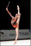 Gymnastique rythmique, massue