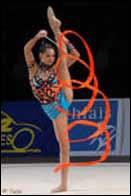 Gymnastique rythmique, ruban